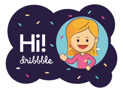 Hi Dribbble - First Shot!