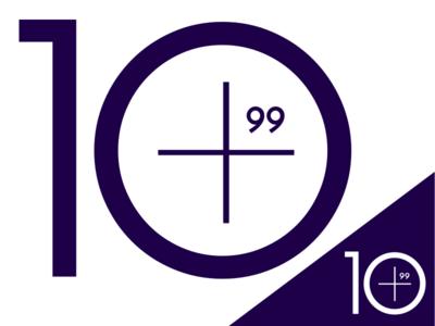 Ten Plus 99 Logo branding logo