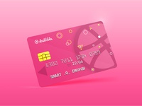 Dribbble Access Card Mockup