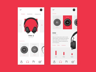 AIAIAI Headphones Interface