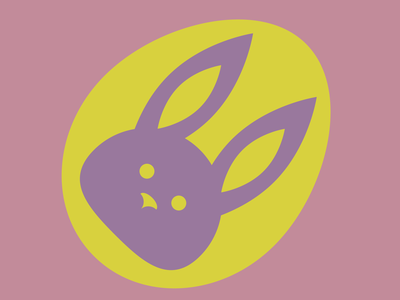 Easter Bunny illustration happy easter graphic design egg easter bunny easter design cute colour color chocolate egg chocolate bunny artwork art