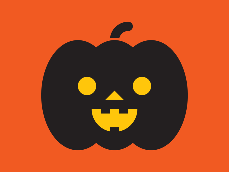 Jack Black vector spooky scary pumpkins pumpkin lantern jack-o-lantern jack illustration horror halloween graphic design geometry geometric flat design cute artwork art