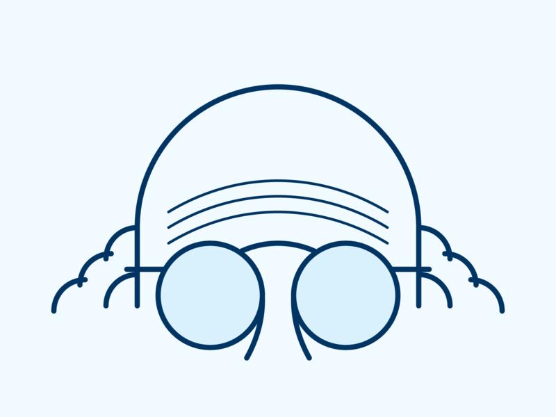 Larry David vector strokes seinfeld portrait lines larry david illustration graphic design glasses geometry geometric fanart fan art drawing design curb your enthusiasm curb bald artwork art