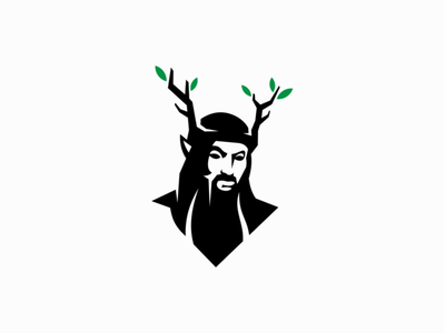 Druid logo for Sale people sale magic mark design branding logo druid