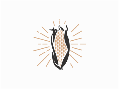 Vintage Corn Logo for Sale vegetables icon emblem graphic agriculture farm retro vintage corn professional premium illustration flat sale vector mark design branding logo