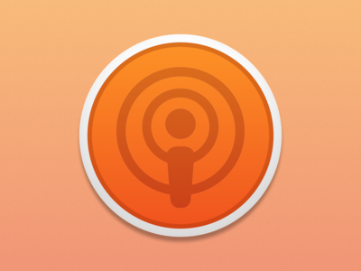 Instacast Mac Icon Redesign
