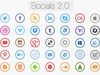 Socials Icon Set