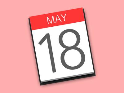 OS X Calendar Icon