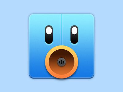 Tweetbot for Mac Icon grey white black orange blue tapbots twitter icon mac tweetbot