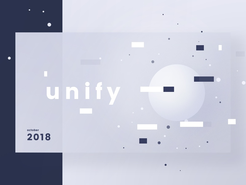 Unify design circle unify screen shapes