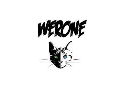 DJ Werone Logo project creativity logo moodboard thinking design graphic