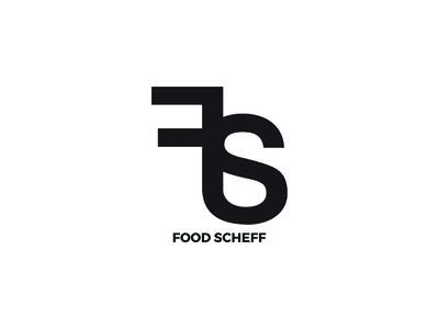 Food Scheff typography design logo restaurant
