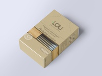 100% biodegradable wooden Q-tips
