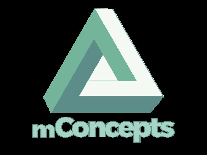 mConcepts creativity vector typography logo design