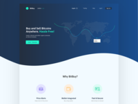 Bitbuy - Cryptocurrency Landing Page