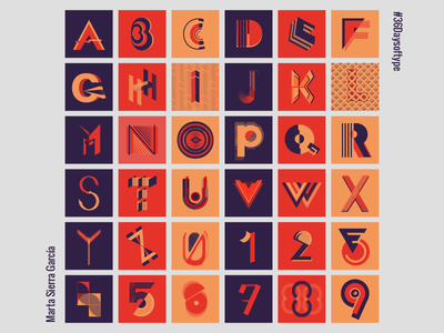 36 days of type: alphabet