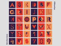 36 days of type: alphabet