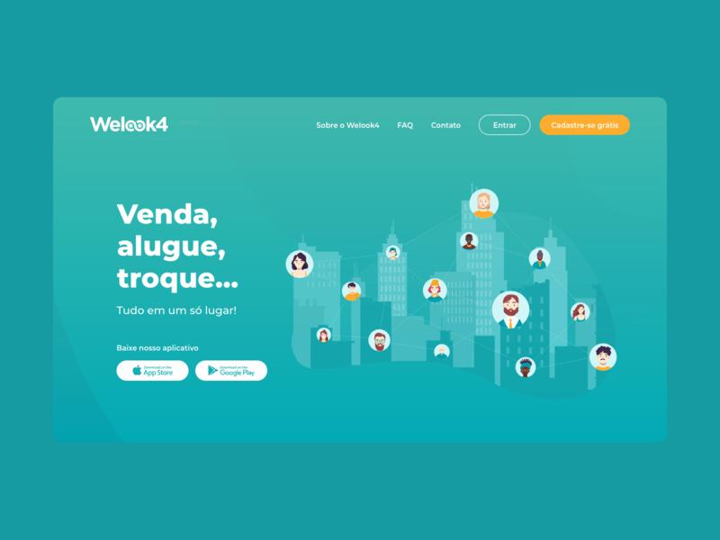 Welook4 social media