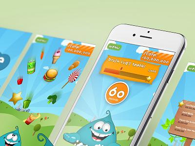 Food swipe app bondmedia apps lug foodswipe development design app