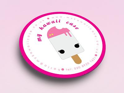 My Kawaii Case Logo brand bondmedia case kawaii china japan design logo