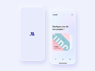Menu ux ui iphone app principle sketch menu branding mobile animation