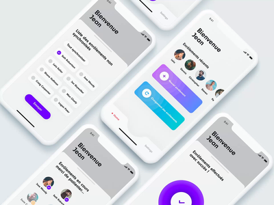 Bank App shot iphone product prototyping principle ux ui branding mobile ios app clean design sketch