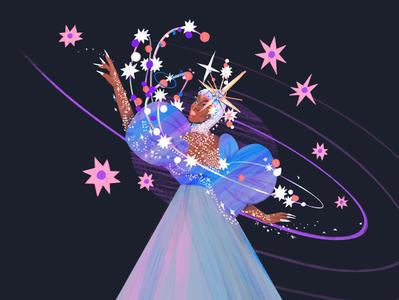 Jaida Essence Hall rupauls drag race fanart ilustracion illustration jaida essence hall