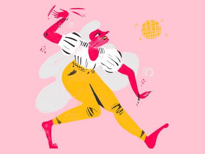 Dancing Queen photoshop digital ilustracion wacom illustration
