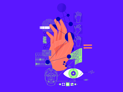 E.C.I.: Machine Learning artificial intelligence digital ilustracion wacom illustration
