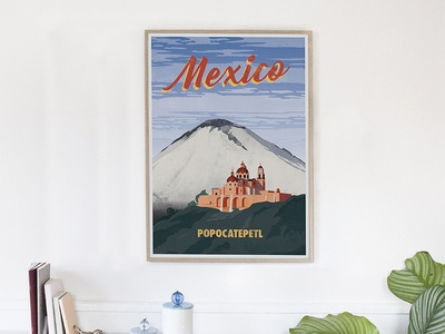 Mexico vintage style travel poster vintage vector travel poster poster travel mexico