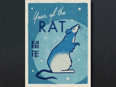 Day 4: Year Of The Rat (Chinese Zodiac Series)
