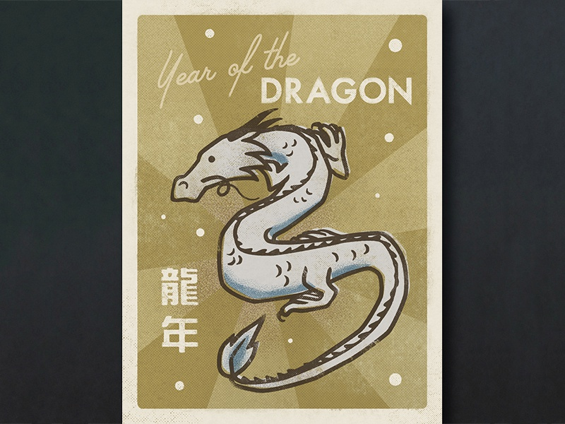 Day 8: Year Of The Dragon (Chinese Zodiac Series) by Laura