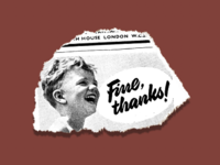 Fine, thanks!