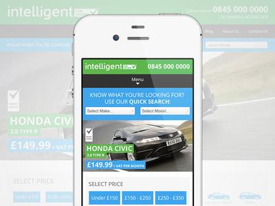 Intelligent Car Leasing: Mobile