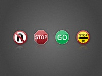 UK Road Sign Icons