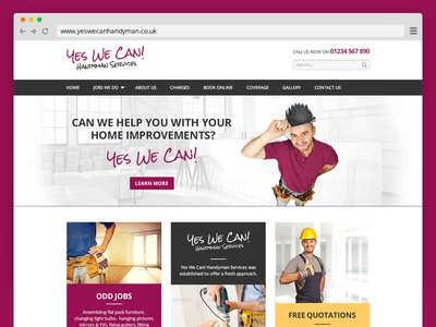 Yes We Can Handyman Services | Home