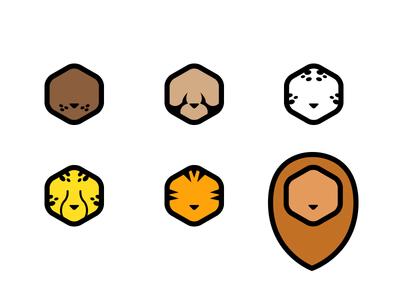 Wild Cat Tier Icons