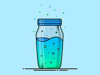 Fortnite Slurp Juice Vector Illustration