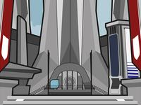 Destiny Tower Vector Illustration