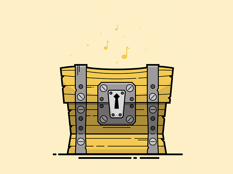 Fortnite Loot Chest Illustration By Christine Wilde Dribbble