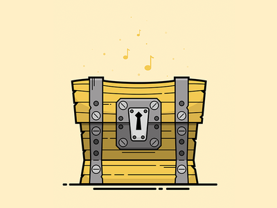 Fortnite Loot Chest Illustration