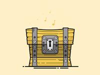 Fortnite Loot Chest Illustration