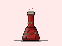 Skyrim Minor Healing Potion Illustration