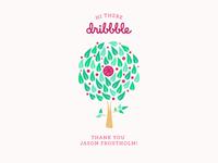 Dribbble Fruit