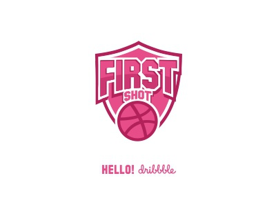 First Shot Dribbble