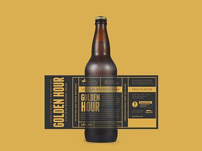 Cold Beer Bottle Label Design label label design beer