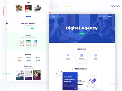 PSD landing page for Agency