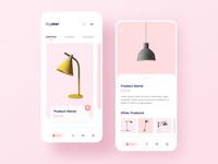 Concept Design - Online Shop Mobile App