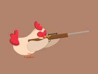 Sniper Chicken