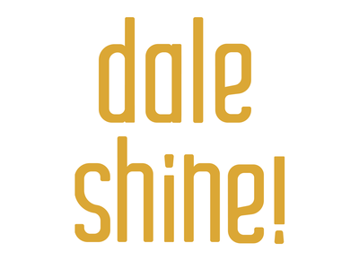 Dale Shine doodle dale shine typography type